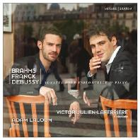 SONATES POUR VIOLONCELLE & PIANO/ ADAM LALOUM, VICTOR JULIEN-LAFERRIERE [브람스, 프랑크, 드뷔시: 첼로와 피아노를 위한 소나타]