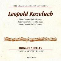THE CLASSICAL PIANO CONCERTO 4/ HOWARD SHELLEY [고전주의 피아노 협주곡 4집: 코젤루흐 - 하워드 셸리]