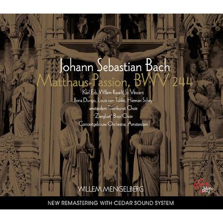 MATTHAUS-PASSION BWV244/ WILLEM MENGELBERG [바흐: 마태수난곡]