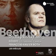 SYMPHONY NO.5 & SYMPHONIE A 17 PARTIES/ FRANCOIS-XAVIER ROTH [베토벤: 교향곡 5번 & 고세크: 17인의 목소리를 위한 교향곡 - 프랑수아 자비에 로트]