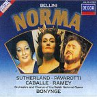 NORMA/ SUTHERLAND/ PAVAROTTI/ CABALLE/ RAMEY/ BONYNGE