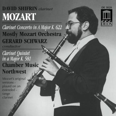 CLARINET CONCERTO & QUINTET/ DAVID SHIFRIN, GERARD SCHWARZ