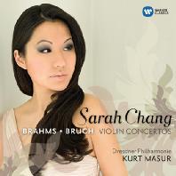 BRAHMS, BRUCH VIOLIN CONCERTOS/ KURT MASUR [브람스 & 브루흐: 바이올린 협주곡 - 사라 장, 쿠르트 마주어]