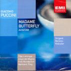 MADAME BUTTERFLY/ BERISLAV KLOBUCAR (EMI RARITATEN)