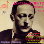 JASCHA HEIFETZ COLLECTION VOL.4