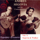 ANDRES SEGOVIA AND HIS CONTEMPORARIES VOL.3