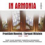 IN ARMONIA/ FRANTISEK NOVOTNY [낭만주의 작곡가들의 바이올린과 피아노를 위한 소품]