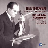 VIOLIN CONCERTO/ BRONISLAW HUBERMAN, GEORGE SZELL [ORIGINAL JACKET] [베토벤: 바이올린 협주곡 - 후베르만 & 셀]