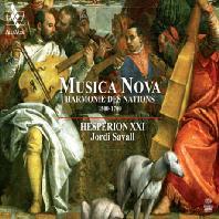 MUSICA NOVA/ JORDI SAVALL [SACD HYBRID] [무지카 노바: 여러나라들의 하모니 - 1500~1700년 비올 콘소트 걸작선 | 에스페리옹 21 & 조르디 사발]