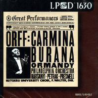 CARMINA BURANA/ EUGENE ORMANDY [LPCD 1630]