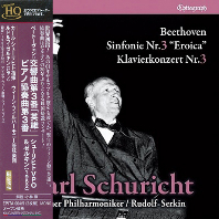 SYMPHONY NO.3 EROICA & PIANO CONCERTO NO.3/ CARL SCHURICHT [UHQ-CD] [베토벤: 교향곡 3번 영웅, 피아노협주곡 3번 - 칼 슈리히트]