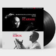 SONATAS FOR CELLO AND PIANO/ JANOS STARKER, GYORGY SEBOK [LP] [브람스: 첼로 소나타 - 야노스 슈타커 & 죄르지 세복]