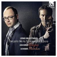 COMPLETE WORKS FOR VIOLONCELLO & PIANO/ JEAN-GUIHEN QUEYRAS, ALEXANDER MELNIKOV [장-기앙 케라스: 베토벤 첼로 소나타 전곡 외]
