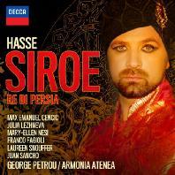 SIROE: RE DI PERSIA/ MAX EMANUEL CENCIC, GEORGE PETROU [하세: 오페라 <시로에>]