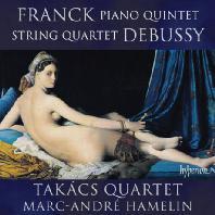 PIANO QUINTET & STRING QUARTET/ TAKACS QUARTET, MARC-ANDRE HAMELIN [프랑크: 피아노 5중주 & 드뷔시: 현악 4중주]