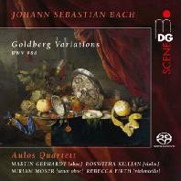 GOLDBERG VARIATIONS: ADAPTION BY JOSEF RHEINBERGER/ AULOS QUARTETT [SACD HYBRID] [바흐: 골드베르크 변주곡 (라인베르거 편곡)]