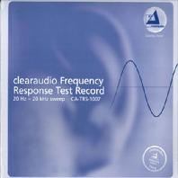 CLEARAUDIO FREQUENCY RESPONSE TEST RECORD [180G LP]