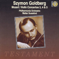 VIOLIN CONCERTOS NO.3, 4 & 5/ SZYMON GOLDBERG, WALTER SUSSKIND [모차르트: 바이올린 협주곡 - 시몬 골드베르그, 월터 서스킨드]