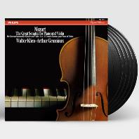 THE GREAT SONATAS FOR PIANO AND VIOLIN/ WALTER KLIEN, ARTHUR GRUMIAUX [모차르트: 바이올린 소나타 전집 박스세트] [ANALOGPHONIC 180G LP]