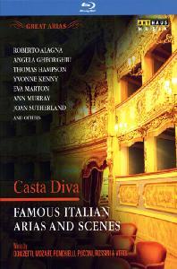 GREAT ARIAS: CASTA DIVA - DONIZETTI, MOART, PONCHIELLI [유명 이탈리아 오페라 아리아와 장면들: 정결한 여신]