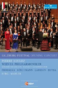 SALZBURG FESTIVAL: OPENING CONCERT/ PIERRE BOULEZ [2011 잘츠부르크 페스티벌 개막 콘서트]