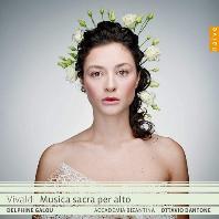MUSICA SACRA PER ALTO/ DELPHINE GALOU, OTTAVIO DANTONE [비발디: 알토를 위한 종교 작품집 - 델핀느 갈루, 단토네]