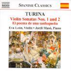 VIOLIN SONATAS NOS.1 AND 2/ EVA LEON/ JORDI MASO