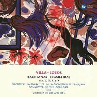 BACHIANAS BRASILEI NOS.2, 5, 6 & 9/ VICTORIA DE LOS ANGELES [SACD HYBRID] [빌라-로보스: 브라질풍의 바흐]