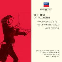 THE BEST OF PAGANINI - VIOLIN CONCERTO NOS.1&2/ JAAP VAN ZWEDEN, IVRY GITLIS, NEVILLE MARRINER [파가니니: 베스트 - 바이올린 협주곡 외]