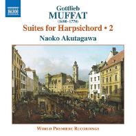 SUITES FOR HARPSICHORD 2/ NAOKO AKUTAGAWA [고틀리브 무파트: 하프시코드 모음곡 2집 - 아쿠타가와 나오코]