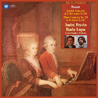 DOUBLE CONCERTO, PIANO CONCERTO NO.20/ RADU LUPU, ANDRE PREVIN [모차르트: 피아노 협주곡 20번 & 2대의 피아노를 위한 협주곡 - 라두 루푸, 프레빈]
