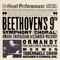"SYMPHONY NO.9 ""CHORAL""/ EUGENE ORMANDY [GREAT PERFORMANCES] [베토벤: 교향곡 9번 <합창> - 유진 오먼디]"