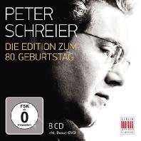 DIE EDITION ZUM 80 GEBURTSTAG [8CD+DVD] [페터 슈라이어: 80세 기념 에디션]