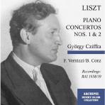 PIANO CONCERTOS NOS.1 & 2/ GYORGY CZIFFRA
