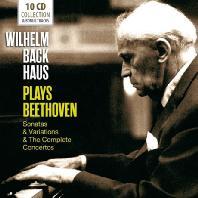 PLAYS BEETHOVEN: SONATAS, VARIATIONS & THE COMPLETE CONCERTOS [빌헬름 박하우스: 베토벤 협주곡 전곡과 명소나타집]