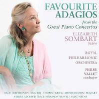 FAVOURITE ADAGIOS FROM THE GREAT PIANO CONCERTOS/ ELIZABETH SOMBART, PIERRE VALLET [아다지오 악장 모음: 피아노 협주곡 - 엘리자베트 송바르]