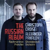 THE RUSSIAN ALBUM: CELLO SONATAS/ CHRISTOPH CROISE, ALEXANDER PANFILOV [러시아 앨범: 라흐마니노프, 쇼스타코비치, 프로코피에프, 쉬체드린: 첼로 소나타 - 크리스토프 크루아제]