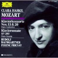 PIANO CONCERTOS NOS.13 & 20, PIANO SONATA/ CLARA HASKIL, FERENC FRICSAY [모차르트: 피아노 협주곡, 소나타 - 클라라 하스킬, 프리차이]