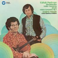 MENDELSSOHN & BRUCH: VIOLIN CONCERTOS/ ANDRE PREVIN [펄만 5집 - 멘델스존 & 브루흐: 바이올린 협주곡]