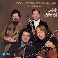 THE BAROQUE ALBUMS: OBOE QUARTETS & TRIO SONATAS/ PINCHAS ZUKERMAN, RAY STILL, LYNN HARRELL [펄만 25집 - 바로크 앨범: 바흐, 모차르트, 슈타미츠]