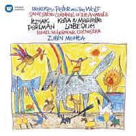 PROKOFIEV: PETER AND THE WOLF & SAINT-SAENS: CARNIVAL OF THE ANIMALS/ ZUBIN MEHTA [펄만 59집 - 프로코피에프: 피터와 늑대/생상스: 동물의 사육제]