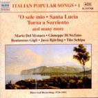 ITALIAN POPULAR SONGS VOL.1 [1930-1950]