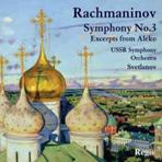 SYMPHONY NO.3 & EXCERPTS FROM ALEKO/ EVGENY SVETLANOV