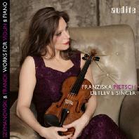 WORKS FOR VIOLIN & PIANO/ FRANZISKA PIETSCH, DETLEV EISINGER [시마노프스키 & 프랑크: 바이올린 소나타 - 듀오 피치, 아이징거]