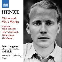 VIOLIN AND VIOLA WORKS/ PETER SHEPPARD SKAERVED, RODERICK CHADWICK [헨체: 바이올린과 비올라를 위한 작품집]