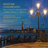 SINFONIE CONCERTANTI PER 2 FLAUTI E ORCHESTRA/ ANNE UTAGAWA, PAUL KUENTZ [피오릴로, 캄비니, 치마로사: 두 대의 플루트와 오케스트라를 위한 신포니아 콘체르탄테]