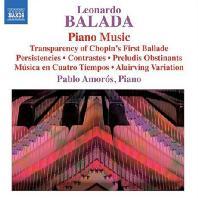 PIANO MUSIC/ PABLO AMOROS