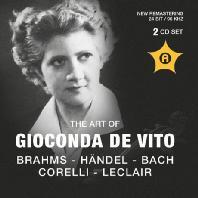 THE ART OF GIOCONDA DE VITO: BRAHMS & BACH