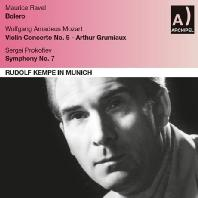 VIOLIN CONCERTO NO.5 & SYMPHONY NO.7/ ARTHUR GRUMIAUX, RUDOLF KEMPE