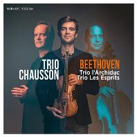 TRIO LARCHIDUC, LES ESPRITS/ TRIO CHAUSSON [베토벤: 피아노 트리오 7번(대공) & 5번(유령) - 트리오 쇼송 ]